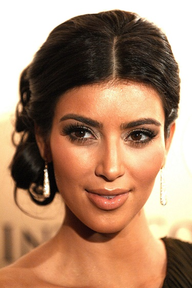 Kim Kardashian Head shot