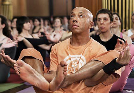 """Yoga has really helped me feel more comfortable with the idea of being present, the simpliest idea of spirituality, the power of now."" -Russell Simmons"
